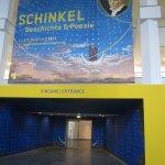 Eingang Räume 1 und 2 im Kulturforum (c) Foto von Susanne Haun