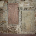Grabplatten in der Klosterkirche Grimma (c) Foto von Susanne Haun