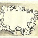 Blatt 88 Der Felsenring ist leer (c) Zeichnung von Susanne Haun