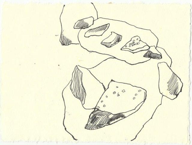 Blatt 92 Der Felsenring ist leer (c) Zeichnung von Susanne Haun
