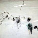4 Die Vogelfrau entsteht (c) Foto von Susanne Haun