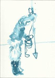 Version 1 Die Freiheit der Eskimo (c) Zeichnung von Susanne Haun