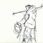 Version 2 - Teil 1 Eskimo Entstehung (c) Zeichnung von Susanne Haun