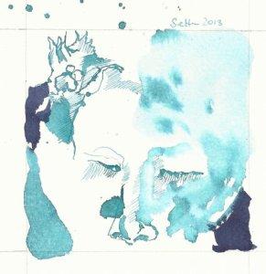 Kleine Prinzessin (c) Zeichnung von Susanne Haun