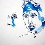 Entstehung von meinem Sinnbild von Hedwig Dohm (c) Zeichnung von Susanne Haun