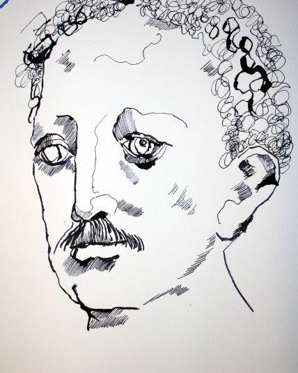 Mein Sinnbild von Lassalle (c) Zeichnung von Susanne Haun
