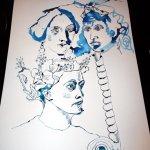 Die Wirbelsäule (c) Zeichnung von Susanne Haun