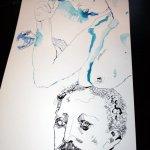 Gedanken an die Frauen (c) Zeichnung von Susanne Haun