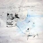 Der Wels verschwindet wieder (c) Zeichnung von Susanne Haun