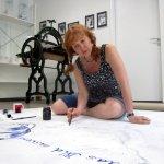 Zeichne das Bild auswendig - Entstehung Leinwand von (c) Susanne Haun (3)