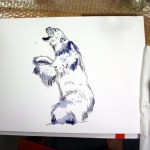 Eisbär (c) Zeichnung von Susanne Haun