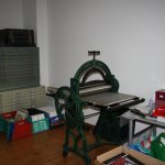 Neuer Atelierraum (c) Foto von Susanne Haun