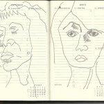 Selbstportrait Tagebuch 41. Woche (c) Zeichnung von Susanne