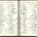 Selbstportrait Tagebuch Feiertage Seite 3 (c) Zeichnung von Susanne