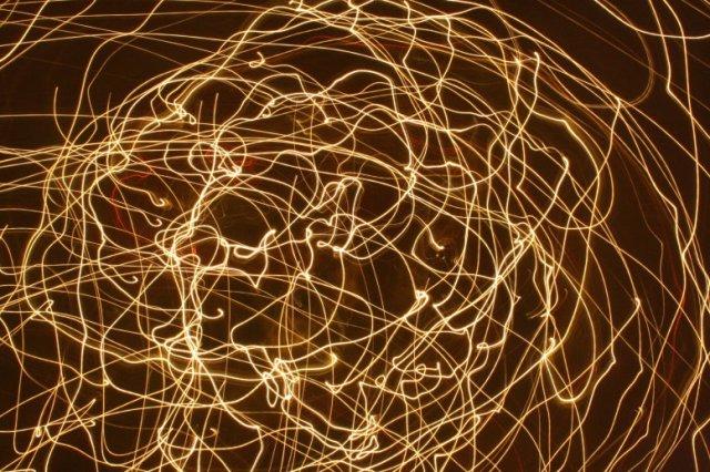 Lichtspur artes liberalis Nr. 1 Grammatik (c) Foto von Susanne Haun