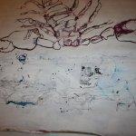 Wie zeichne ich den Anschluss (c) Zeichnung auf Leinwand von Susanne Haun