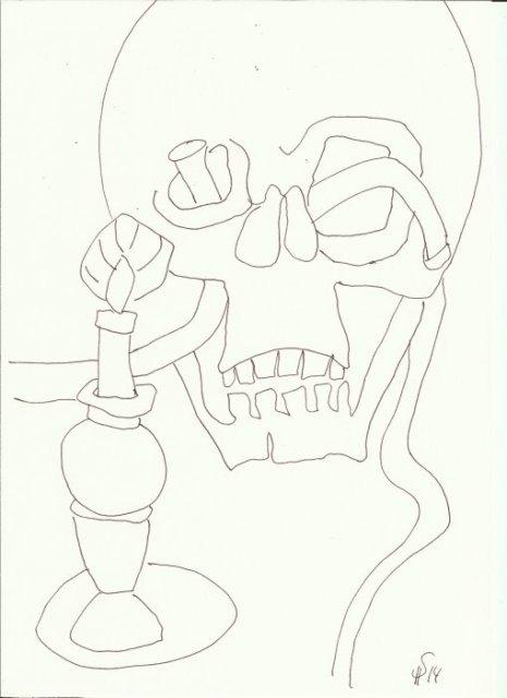 Bad Doberaner Münster 7 (c) Zeichnung von Susanne Haun