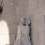Passionsfassade der Sagrada da Familia - Judaskuss (c) Foto von Susanne Haun
