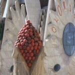 Die Sagrada nach der Turmbesteigung fotografiert (c) Foto von Susanne Haun