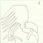 Auseinandersetzung mit Dietterlin Version 2 (c) Zeichnung von Susanne Haun