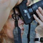 Mit Kamera und ohne Bogen (c) Foto von M.Fanke
