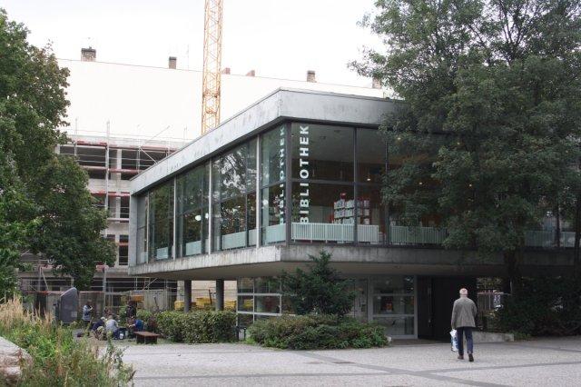 Jetzige Schillerbibliothek (c) Foto von Susanne Haun