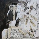 Blatt 48 - Daszerschnittene Zauberbuch - 25 x 25 cm (c) Collage von Susanne Haun