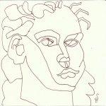 Orangerie Potsdam Version 1 (c) Zeichnung von Susanne Haun