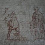 Entwurfzeichnung in der Basilica di San Miniato al Monte (c) Foto von M.Fanke
