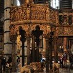Kanzel im Dom von Siena von Nicola Pisano (c) Foto von M.Fanke