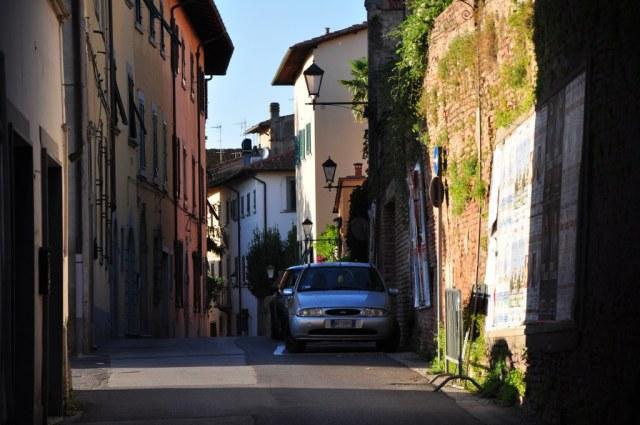 Kleine Gasse in  San Miniato  (c) Foto von M. Fanke