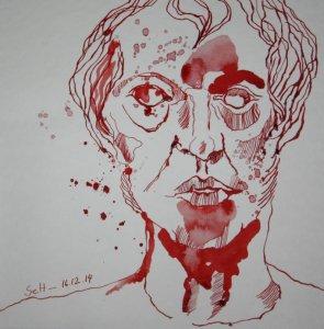 Mein Sinnbild von Hegel (c) Zeichnung von Susanne Haun