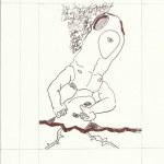 Dialog Bewusst-Sein Blatt 7 Vers. 4 (c) Zeichnung von Susanne Haun