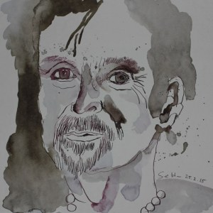 Mein Sinnbild von T.C.Boyle (c) Zeichnung von Susanne Haun