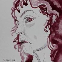 Und glaubst du gleich den Worten nicht (c) Zeichnung von Susanne Haun