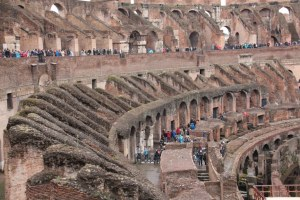 Innenraum des Kolloseum Rom (c) Foto von Susanne Haun