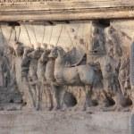Relief der rechten Innenseite des Titusbogen (c) Foto von Susanne Haun