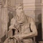Michelangelos gehörnter Moses (c) Foto von Susanne Haun