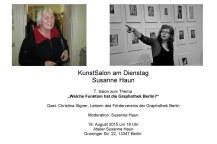 Salon Einladung Gast Christina