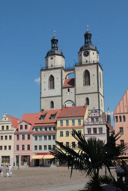 Marktplatz Wittenberg (c) Foto von Susanne Haun
