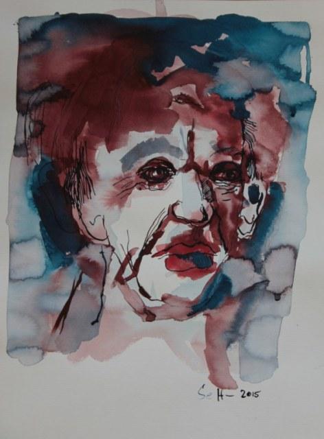 Volker Bild 6, 40 x 30 cm (c) Zeichnung von Susanne Haun
