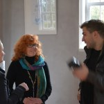Gespräch mit dem Reporter von der Märkischen Allgemeinen (c) Foto von M.fanke