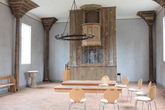 Innenansicht der Kirche Roddahn (c) Foto von Susanne Haun