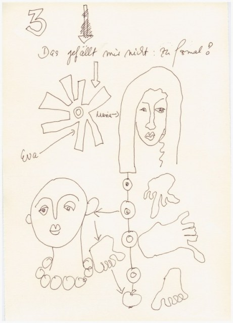 Das Jahr Null 05.12.2015 (c) Zeichnung von Susanne Haun