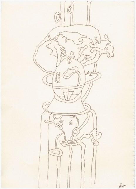 Granatapfel (c) Zeichnung von Susanne Haun