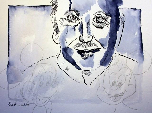 Mein Sinnbild von Walt Disney (c) Zeichnung von Susanne Haun