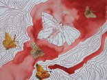 Sehgewohnheiten der Kleinsten – Schmetterling (c) Collage von Susanne Haun