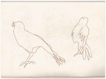 1. Skizzenbuch London (c) Zeichnung von Susanne Haun