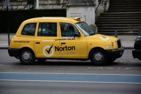 Taxi in London (c) Foto von M.Fanke