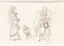1. Skizzenbuch London (c) Zeichnung von Susanne Haun (1)